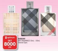 Burberry Brit Fragrances 50ml-100ml