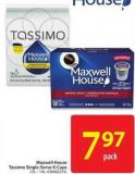Maxwell House Tassimo Single-serve K-cups