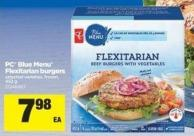PC Blue Menu Flexitarian Burgers - 452 g