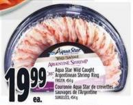 Aqua Star Wild Caught Argentinean Shrimp Ring