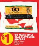 Go Flake Style Crab Flavoured Seafood 200 g