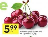 Cherries Product Of Chile - No. 1 Grade