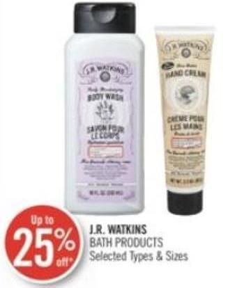 J.r. Watkins Bath Products