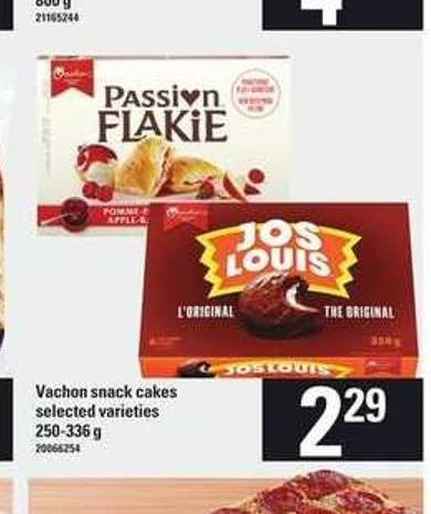 Vachon Snack Cakes - 250-336 G