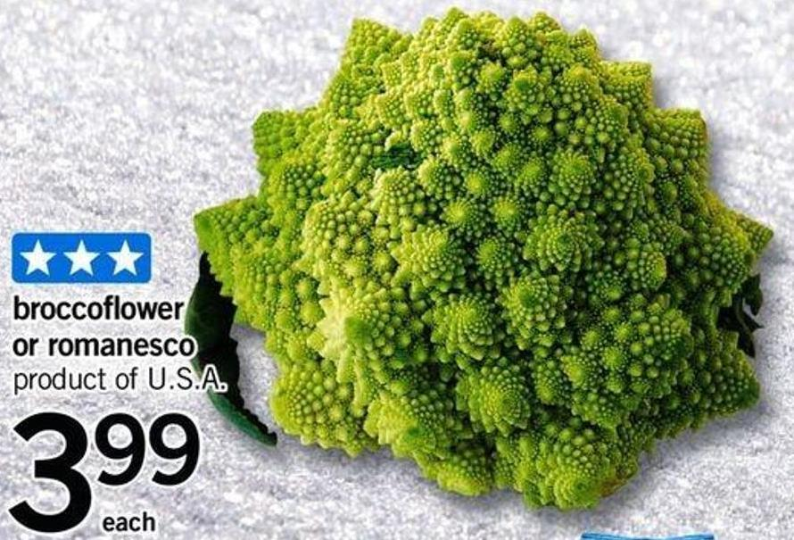 Broccoflower Or Romanesco