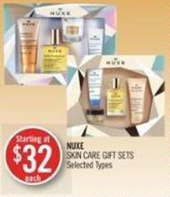 Nuxe Skin Care Gift Sets
