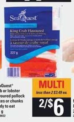 Seaquest Crab Or Lobster - 227 g