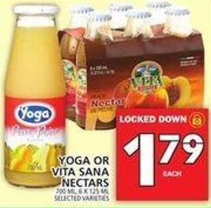 Yoga Or Vita Sana Nectars