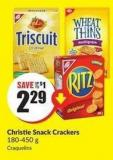 Christie Snack Crackers 180-450 g