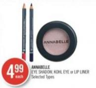 Annabelle Eye Shadow - Kohl Eye or Lip Liner