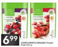Compliments Organic Frozen Fruit