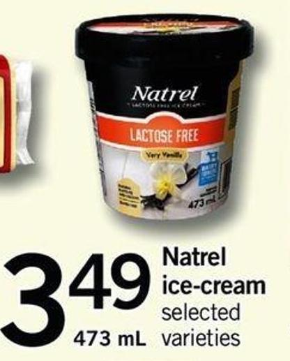Natrel Ice-cream - 473 Ml