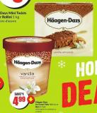 Häagen-dazs Ice Cream Tubs 500 mL or Bars 3-4 Pk