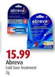 Abreva Cold Sore Treatment