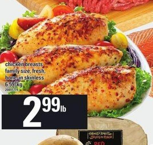 Chicken Breasts Family Size