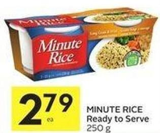 Minute Rice Ready To Serve 250 g