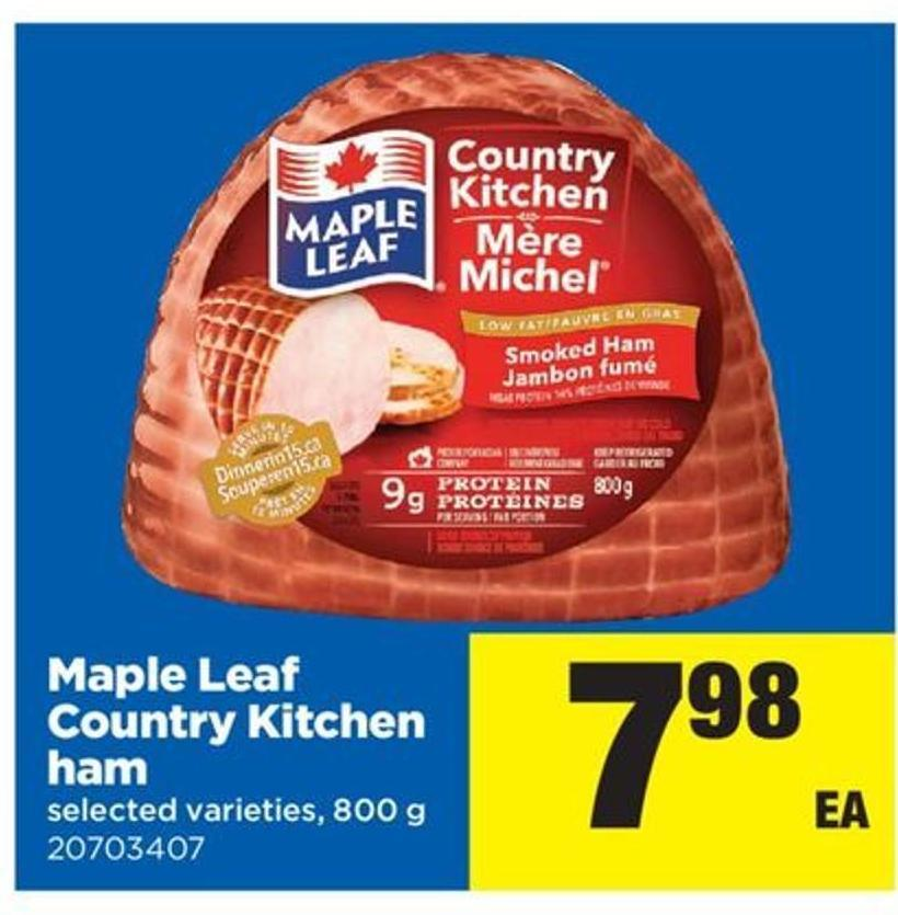 Maple Leaf Country Kitchen Ham Recipes