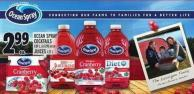 Ocean Spray Cocktails 1.89 L - 6 X 295 Ml Or Juices 1.77 L