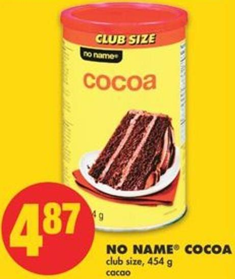 No Name Cocoa Club Size - 454 g