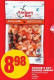 Anchor's Bay Cooked Shrimp - 61/70 Per Lb 454 g