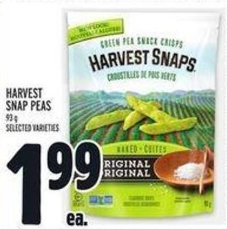 Harvest Snap Peas
