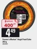 Farmer's Market Angel Food Cake - 283 G