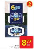 Royale 3-ply Facial Tissue
