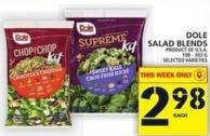 Dole Salad Blends 198 - 303 G