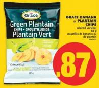 Grace Banana or Plantain Chips - 85 g