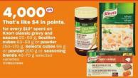 Knorr Classic Gravy And Sauces 20-50 G - Bouillon Cubes 63-69 G Or Powder 150-170 G - Selects Cubes 66 G Or Powder 200 G Or Seasoning Blends 48-70 G