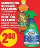 Scrubbing Bubbles Cleaners - 710-950 mL Or 567/623 g Or Pine Sol Cleaner - 1.41 L