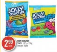 Jolly Rancher Candy 182g - 198g