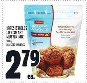 Irresistibles Life Smart Muffin Mix