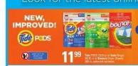 Tide PODS - 23/31ct Or Gain Flings! - 30/35 Ct Or Bounce Dryer Sheets - 200 Ct