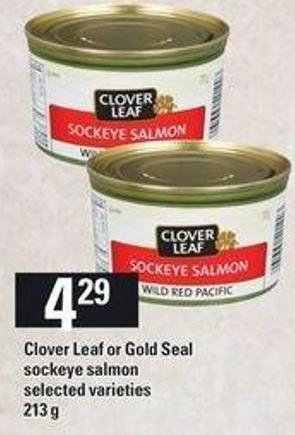 Clover Leaf Or Gold Seal Sockeye Salmon - 213 G
