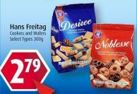 Hans Freitag Cookies and Wafers