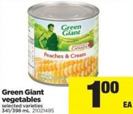 Green Giant Vegetables - 341/398 Ml