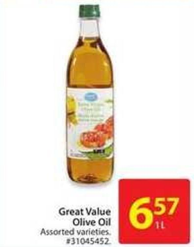 Great Value Olive Oil