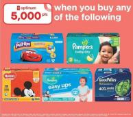 Huggies Pull-ups - 82-124's Or Pampers Easy Ups - 86-112's