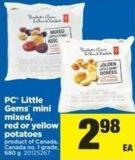 PC Little Gems Mini Mixed - Red Or Yellow Potatoes - 680 g
