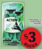 Personnelle Disposable Razors