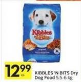 Kibbles 'N Bits Dry Dog Food 5.5-6 Kg