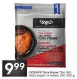 Ocean's Tuna Steaks