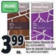 Cocoa Camino Chocolate Bar 100 g