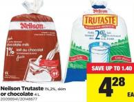 Neilson Trutaste 1%.2% - Skim Or Chocolate - 4 L