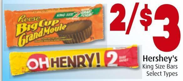 Hershey's King Size Bars