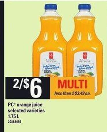 PC Orange Juice