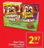 Dare Bear Paws Cookies 2-pack