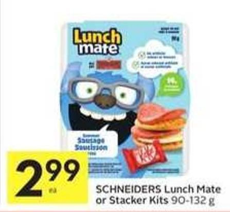 Schneiders Lunch Mate or Stacker Kits