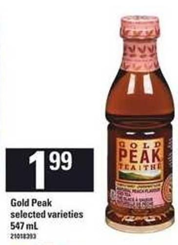 Gold Peak - 547 mL